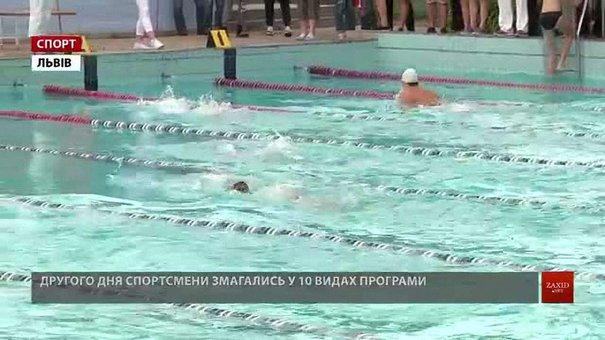 У Львові відбуваються останні цьогоріч змагання чемпіонату України з плавання