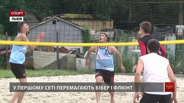 У Львові завершилася першість міста з волейболу на піску