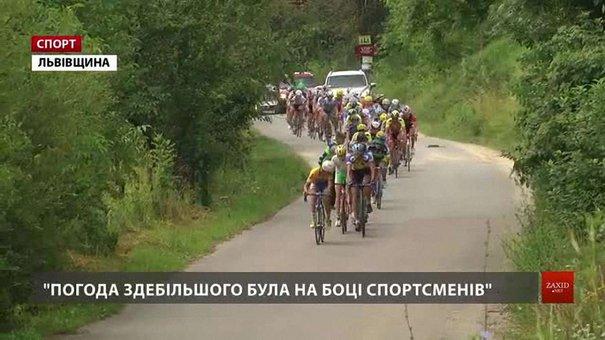 На Львівщині тривають велоперегони чемпіонату України