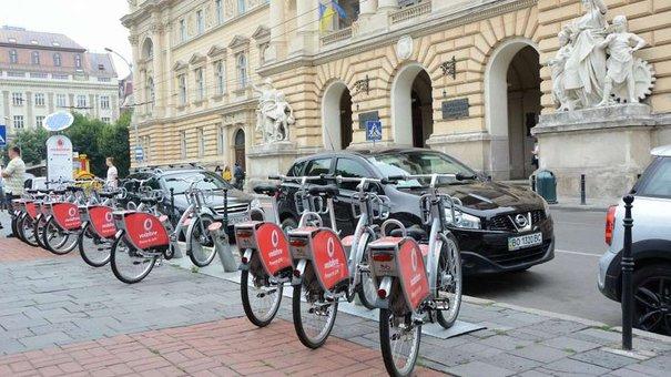 У Львові до кінця року відкриють ще 6 станцій велопрокату