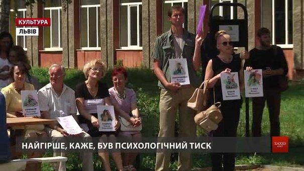 У Львові зустрілися звільнені з полону вояки на підтримку тих, хто досі у неволі
