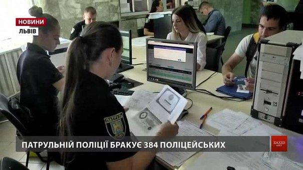 Кандидатів у патрульну поліцію Львова шукають серед безробітних