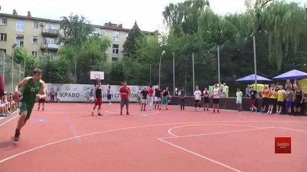 У Львові відбувся фестиваль вуличного баскетболу