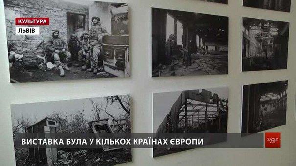 У Львові боєць АТО Олесь Кромпляс презентує виставку «PROMKA»