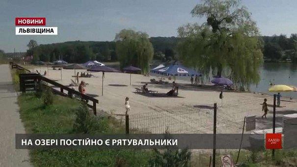 Журналісти з'ясовували, як відпочивають львів'яни на платному та необлаштованому пляжах