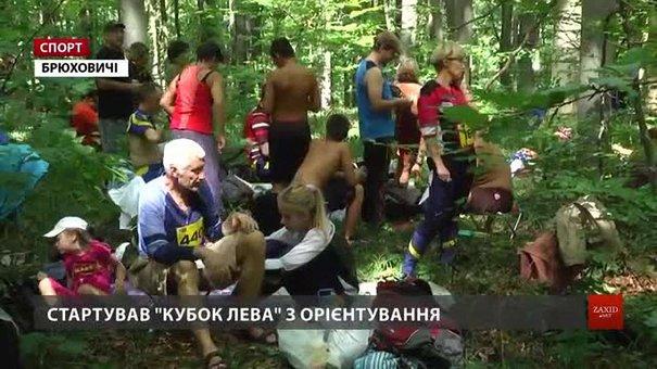 У Брюховицькому лісі стартував масштабний «Lion cup» зі спортивного орієнтування
