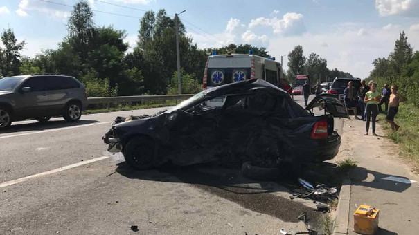 Кортеж Петра Димінського потрапив у смертельну ДТП під Львовом