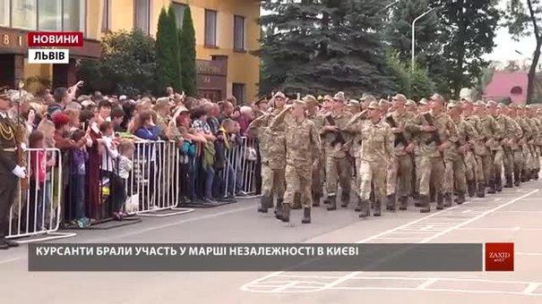Серед першокурсників Національної академії сухопутних військ – 200 учасників АТО