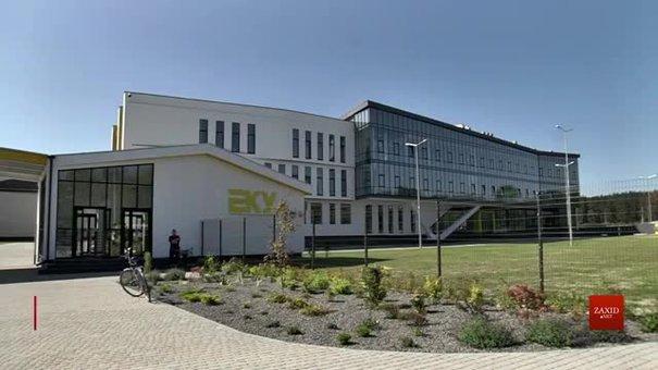 У Бродах відкрили завод, де працівники зароблятимуть до ₴14 тис.