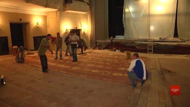 Заньківчани ремонтують глядацький зал, тож актори гратимуть вистави на сценах сусідів