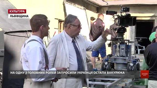 У Свірзькому замку розпочали зйомки фільму Кшиштофа Зануссі «Ефір». Ексклюзивне відео