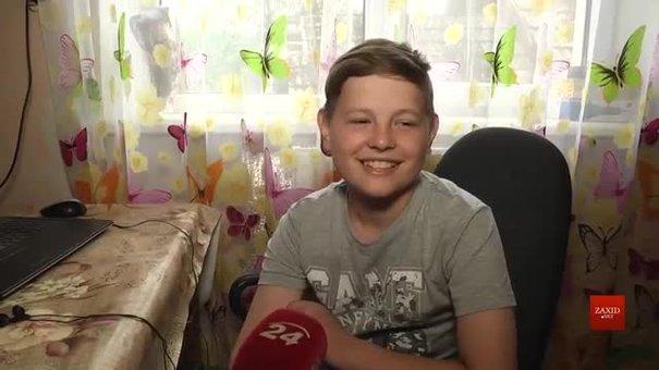 На Львівщину з Італії повернувся 13-річний хлопчик, що подолав рак крові