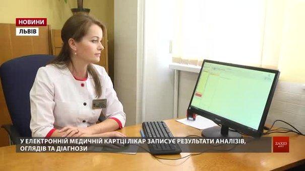 У жіночій консультації 4 міської поліклініки запровадили електронні медичні картки