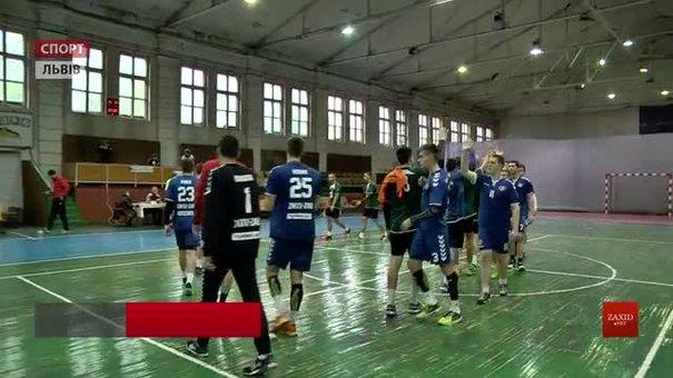 Гандболісти Львівського університету фізкультури поступилися команді ЗНТУ