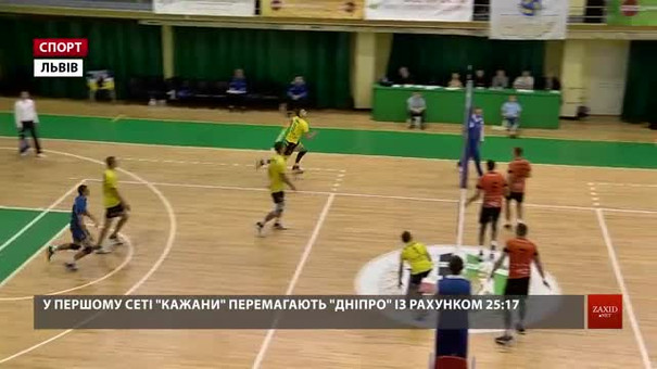 Львівські волейбольні «Кажани» стартували у сезоні двома перемогами