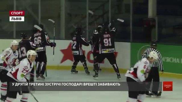 «Галицькі Леви» з Новояворівська вдома розгромно поступилися «Донбасу»