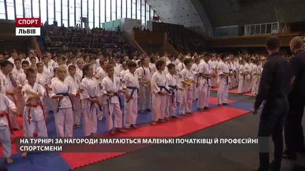 У Львові відбувся відкритий кубок з карате