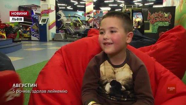 П'ятирічний хлопчик з Самбора переміг лейкемію