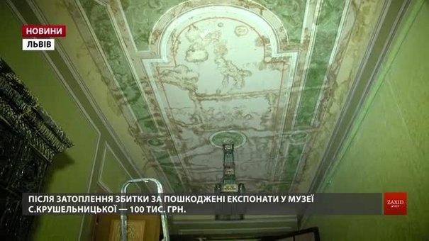 Студенти почали збирати гроші для порятунку затопленого музею Соломії Крушельницької