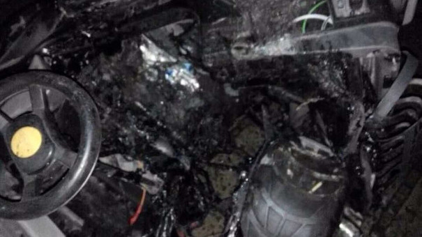 У центрі Львова спалили дитячі машинки із незаконного прокату