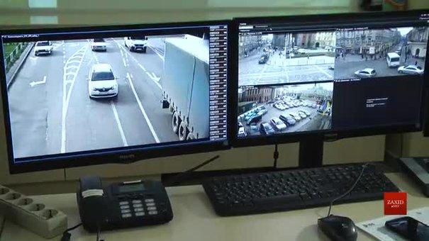 Муніципали показали, як працюють камери зчитування автономерів у Львові