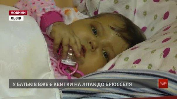 Маленька Вікторія Ріф отримала шанс на життя
