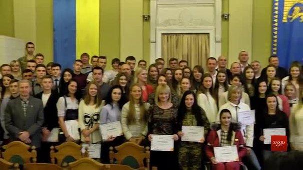 У Ратуші найкращі спортсмени Львівщини отримали нагороди