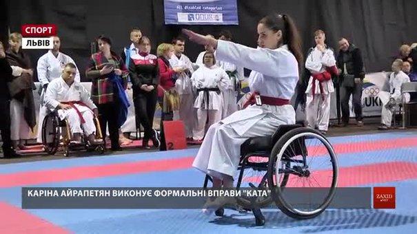 У Львові відбувся міжнародний турнір «Karate open»