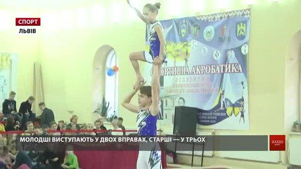 У Львові завершився масштабний турнір зі спортивної акробатики