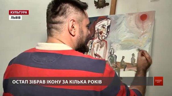 У Львові пропонують скласти пазли з давніх ікон на склі