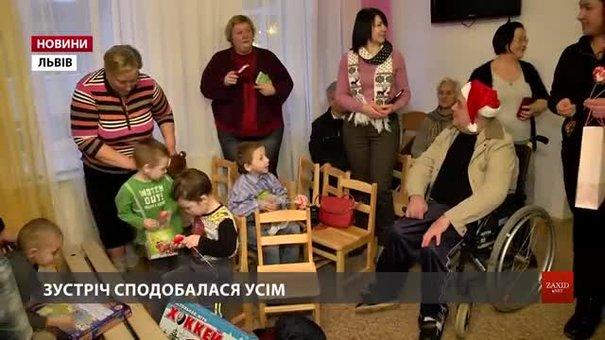 Бабусі й дідусі з Львівського геріатричного пансіонату відвідали сиріт