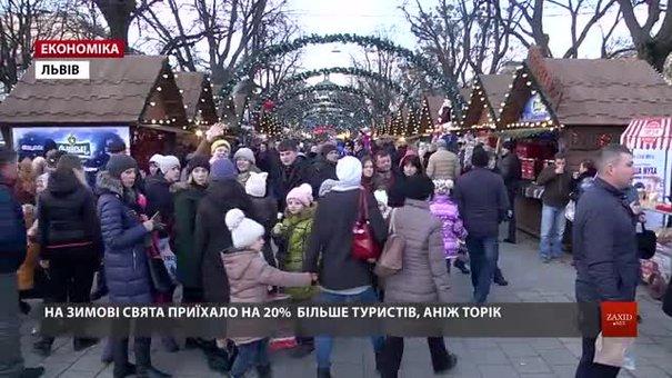 У період різдвяних свят Львів прийме понад півмільйона туристів