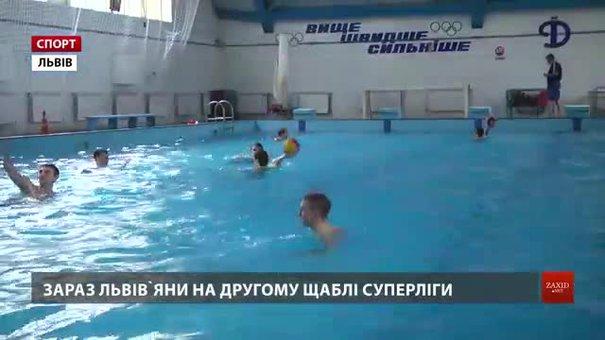 Львівське ватерпольне «Динамо» вийшло з відпустки і готується повертати чемпіонський титул