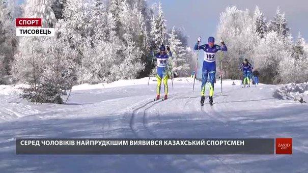 Тисовець на Львівщині прийняв міжнародні рейтингові змагання з лижних перегонів