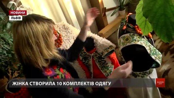 У львівської дизайнерки Анастасії Василик сюжети з гуцульських кахлів – на одязі