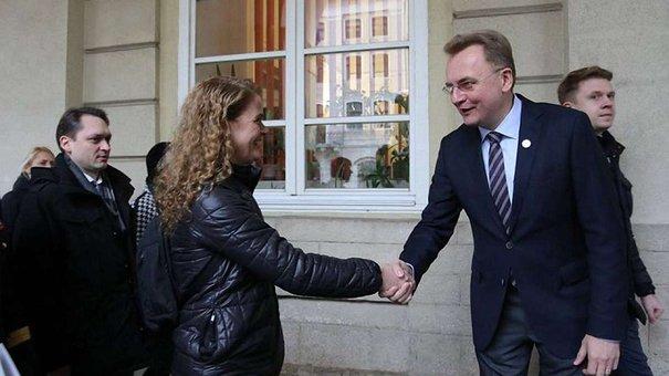 Мер Львова зустрівся з генерал-губернаторкою Канади Жулі Пайєтт