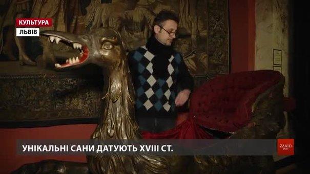 У Львові відреставрували унікальні німецькі сани XVIII століття