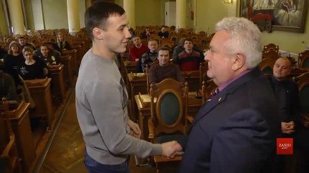 У Львові нагородили найкращих дзюдоїстів за підсумками 2017-го року