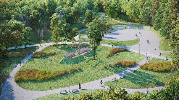 У Львові парк «Замарстинівський» відремонтують за близько ₴8 млн