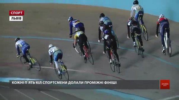 У Львові завершилися перші у році змагання із велоспорту