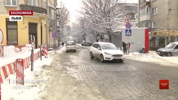 Ремонтники здали дві із трьох черг ремонту Личаківської