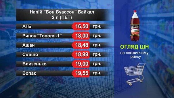 Напій «Бон Буассон». Огляд цін у львівських супермаркетах за 20 лютого