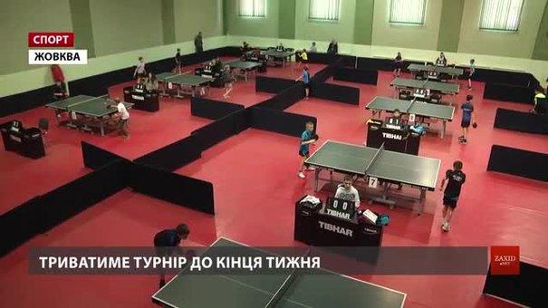 Жовква приймає масштабний міжнародний турнір із настільного тенісу