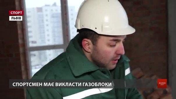 Найдужчий чоловік планети львів'янин Володимир Рекша перевтілився у будівельника