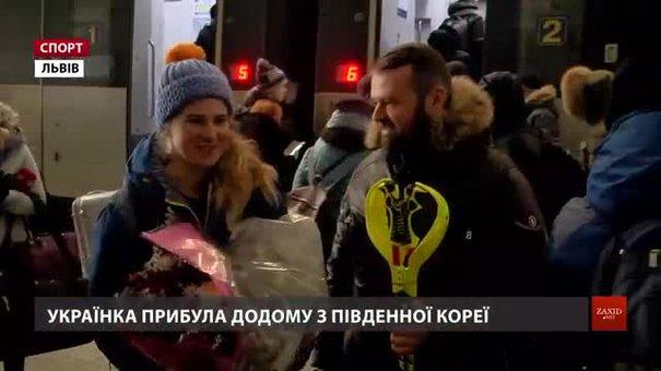 Остання львівська атлетка гірськолижниця Ольга Книш повернулася з Олімпіади