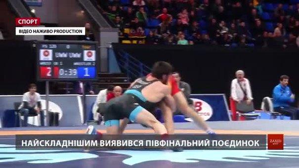 Львівський борець Андрій Квятковський переміг на міжнародному турнірі