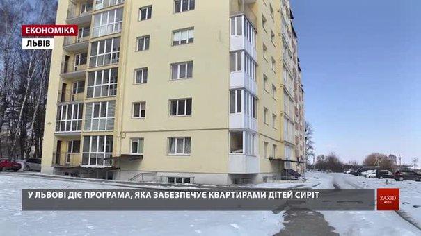 За два роки міської програми співфінансування придбали п'ять квартир для дітей-сиріт зі Львова