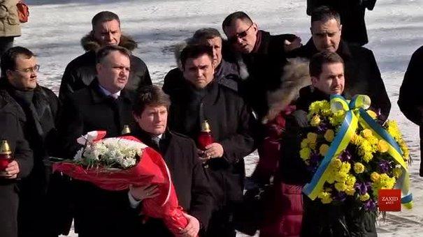 На Личакові українсько-польська делегація вшанувала пам'ять загиблих військових
