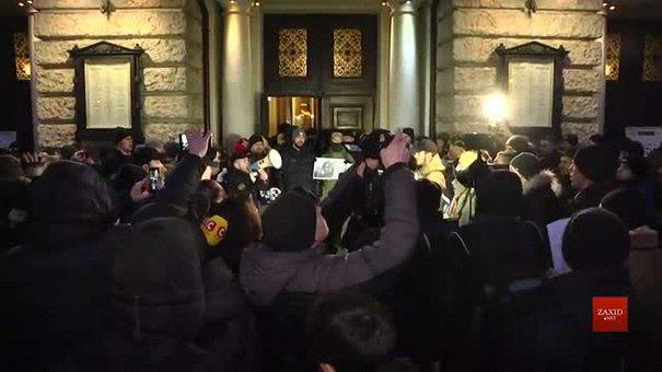 Праворадикали заблокували концерт Ірини Білик у львівській Опері