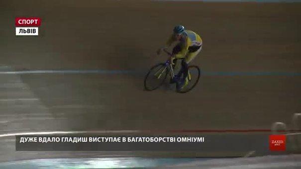 Львів'янин Роман Гладиш зупинився за крок від п'єдесталу на чемпіонаті світу з велотреку